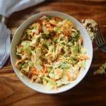 Салат из капусты с мясом