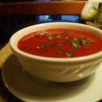 Суп из запеченых томатов